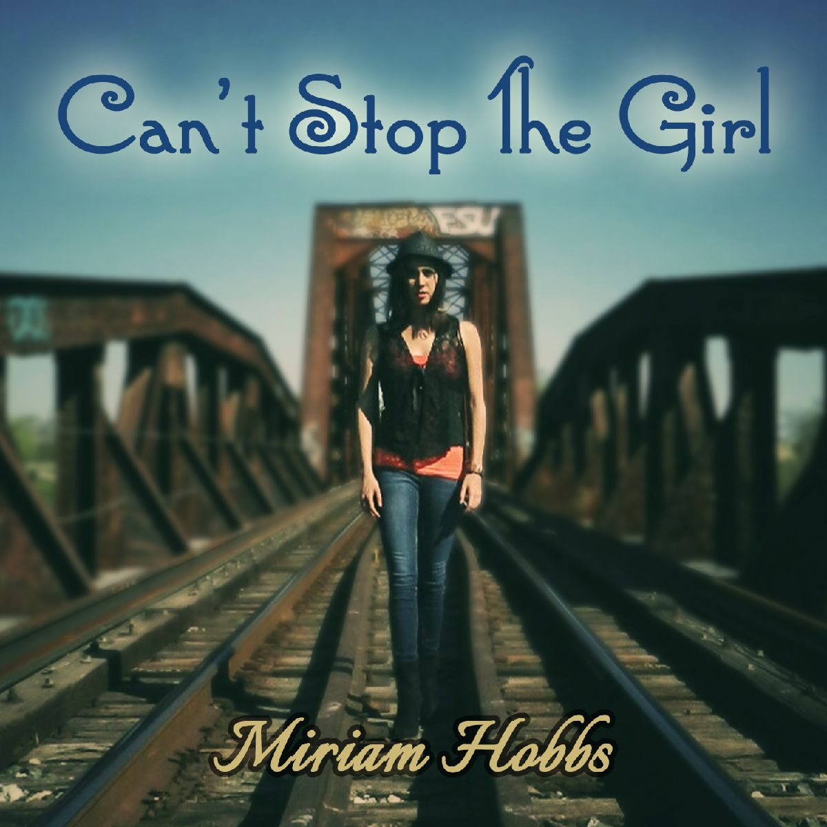 Cant Stop The Girl Album CD Cover Art Photo by Alicia R Paparo
